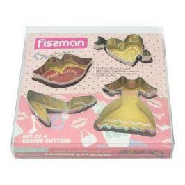 Набор формочек для вырезания печенья, 4 шт 8568 Fissman