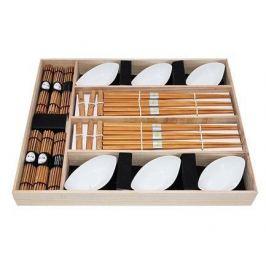 Набор для суши на 6 персон, 24 пр, в деревянной коробке 9581 Fissman