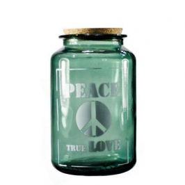 Банка Peace true love (1.4 л), 12х20 см, серая 5267_1F308 Vidrios San Miguel