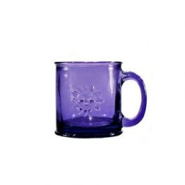 Кружка Sol (0.35 л), 10х10 см, фиолетовая 3101DB21 Vidrios San Miguel