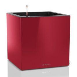 Кашпо Канто, куб, 40 см, красное, с системой полива 13756 Lechuza