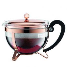 Чайник заварочный с фильтром Chambord 1.3 л. медь 11656-18 Bodum