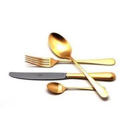 Набор столовых приборов Alcantara Gold, матовые, 24 пр. 9292 Cutipol