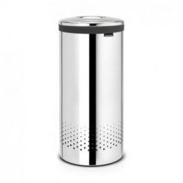 Бак для белья с металической крышкой (35 л), стальной полированный 105104 Brabantia