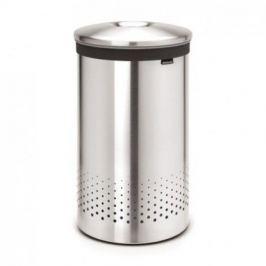 Бак для белья с металлической крышкой (60 л), стальной матовый 105180 Brabantia