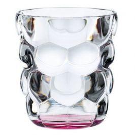 Набор стаканов Bubbles для воды с розовым дном (330 мл), бессвинцовый хрусталь, 2 шт. 100699 Nachtmann