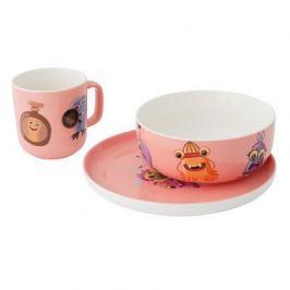 Детский сервиз Childrens, 3 пр., розовый 1694051 BergHOFF