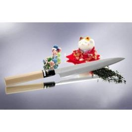 Традиционный Японский нож Янаги для сашими Japanese Knife, 34 см F-946 Tojiro