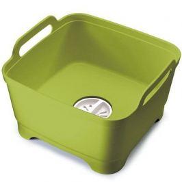 Контейнер для мытья посуды Wash&Drain, 31х20х30 см, зеленый 85059 Joseph & Joseph