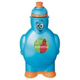 Бутылка для воды (350 мл), 10х5.8х17.5 см, цвета в ассортименте 790 Sistema