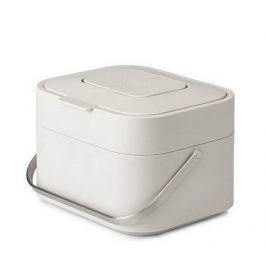 Контейнер для пищевых отходов Stack 4, 23.8х16.7х19.7 см, белый 30015 Joseph & Joseph