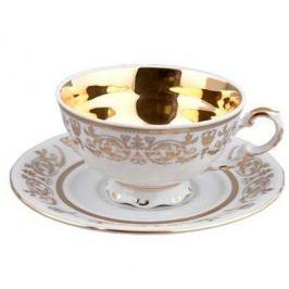 Чашка низкая National Traditions (0.20 л) с блюдцем 07120425-1673k Rudolf Kampf
