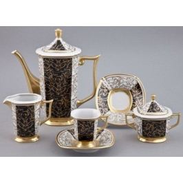 Сервиз кофейный мокко, 15 пр. 54160713-2334k Rudolf Kampf
