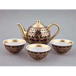 Чайный набор Тет-а-тет на 3 персоны, 4 пр. 36140714-2283 Rudolf Kampf