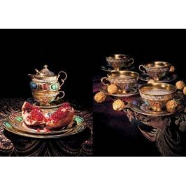 Сервиз кофейный мокко, 15 пр. 07160713-2020k Rudolf Kampf