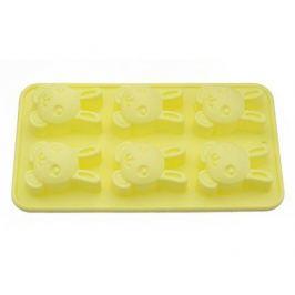 Форма для выпечки 6 кексов Зайчик, 26x14.5x3 см 6655 Fissman