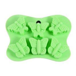 Форма для льда или шоколада Бабочки, 14x10.5x2 см, 6 ячеек 6558 Fissman