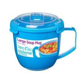 Чаша для супа, голубая 21141 Sistema