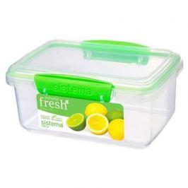Контейнер Fresh (1 л), 17.5х11.7х8 см, зеленый 951600 Sistema