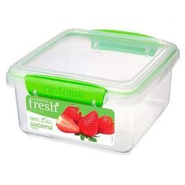 Контейнер Fresh (1.2 л), 15.5х15х8 см, зеленый 951650 Sistema