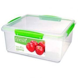 Контейнер Fresh (5 л), 26.5х23.5х12 см, зеленый 951850 Sistema