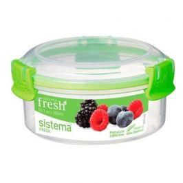 Контейнер круглый Fresh (300 мл), зеленый 951303 Sistema