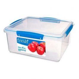 Контейнер Fresh (5 л), 26.5х23.5х12 см, голубой 921850 Sistema