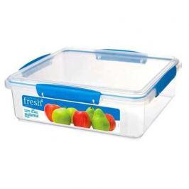 Контейнер Fresh (3.5 л), 26.4х23.8х8.5 см, голубой 921851 Sistema