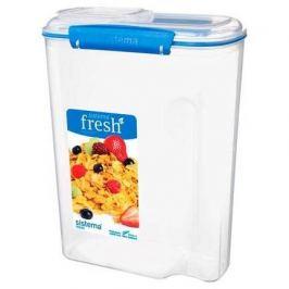 Контейнер для хлопьев Fresh (4.2 л), 21.5х11х28.5 см, голубой 921450 Sistema