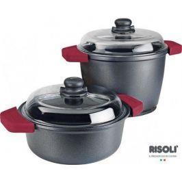 Кастрюля с крышкой Soft Safety Cooking, высокая, 24 см 0197WGF/24TP Risoli
