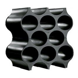 Подставка для бутылок Set-Up, 37х35х23 см, черная 3596526 Koziol