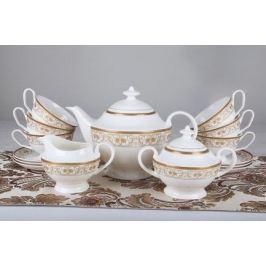 Чайный сервиз Луиза на 6 персон, 15 пр. 71562 А Akky