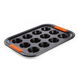 Форма для мини-кексов, 12 ячеек, 24 см (94101300000000) 00037420 Le Creuset