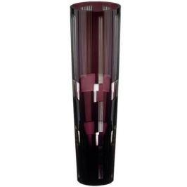 Ваза Retro Black, 25 см, аметист 94918/50464/47029 Ajka Crystal