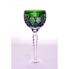 Фужер для красного вина Grape (230 мл), темно-зеленый 1/emerald/64572/51380/48359 Ajka Crystal
