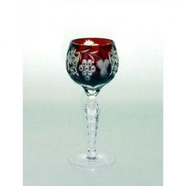 Рюмка для ликера Grape (60 мл), темно-бордовая 1/darkruby/64575/51380/48359 Ajka Crystal