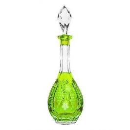 Декантер с пробкой Grape (750 мл), светло-зеленый reseda/64569/51380/48359 Ajka Crystal