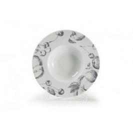 Тарелка глубокая Black Apple, широкий борт, 27 см 830727 2241 Tunisie Porcelaine
