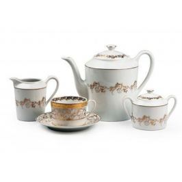 Сервиз чайный Mimosa Lierre Or, 15 пр. 539509 947 Tunisie Porcelaine