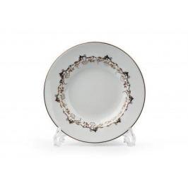 Набор тарелок глубоких Mimosa Lierre Or, 22 см, 6 шт. 539124 947 Tunisie Porcelaine