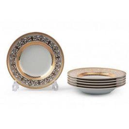 Набор тарелок глубоких Mimosa Didon Or, 22 см, 6 шт. 539124 1645 Tunisie Porcelaine