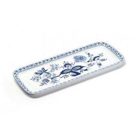 Блюдо для кекса прямоугольное Ognion Bleu, 37.7х15.5 см 610837 1313 Tunisie Porcelaine