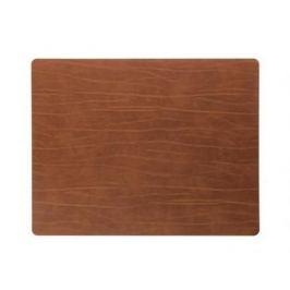 Подстановочная салфетка прямоугольная, 35x45 см, коричневая 98895 Lind Dna