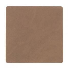 Подстаканник квадратный, 10x10 см, коричневый 981188 Lind Dna