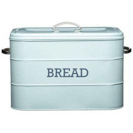 Хлебница Living Nostalgia, 24х21.5х25 см, голубая LNBBINBLU Kitchen Craft