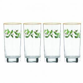 Набор бокалов для воды Новогодние праздники (350 мл), 4 шт LEN849605 Lenox