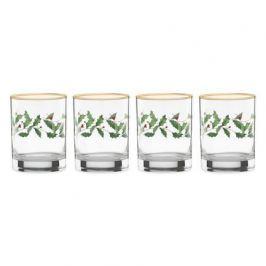 Набор бокалов для виски Новогодние праздники (300 мл), 4 шт LEN849604 Lenox