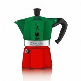Гейзерная кофеварка Moka Express (0.3 л), триколор, на 6 чашек (5323) 00005323 Bialetti