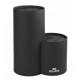 Подставка для ножей двойная, 19x11x22 см, черная W08002401 Walmer