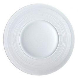 Тарелка обеденная Hemisphere Satin White, 27 см JLC1101 J.L. Coquet
